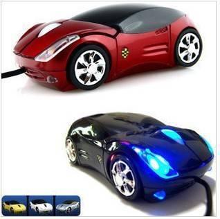 Optical car mouse