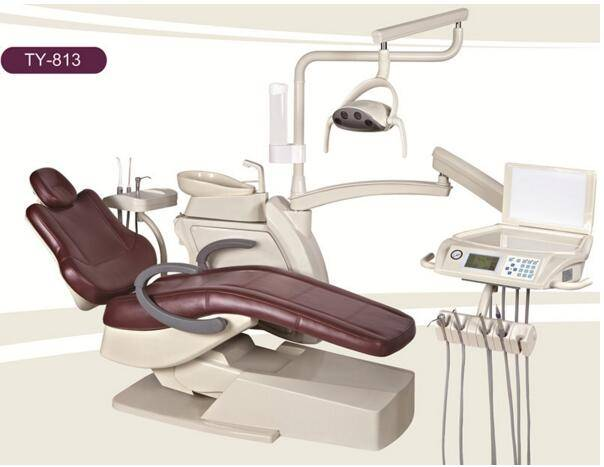 Computer Controlled Dental Chair Unit Top Mounted / Hanging Tray