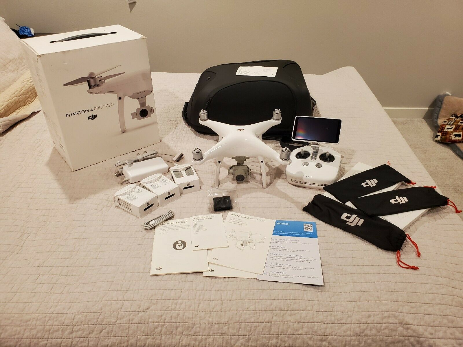 DJI Phantom 4 Pro Plus V2.0 drone +14704086638