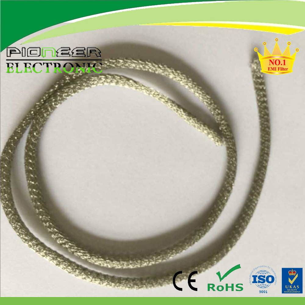 single round all-metal wire mesh gasket for EMI/RF shielding