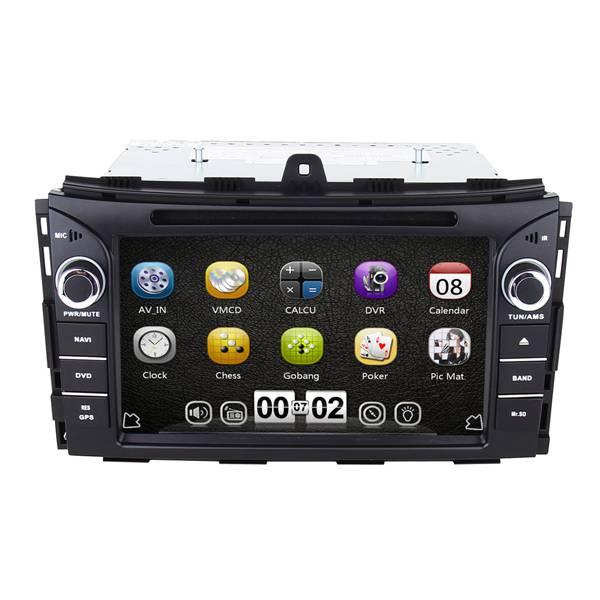 2 din in dash oem car dvd for Geely EC7 2014 multimedia navigation