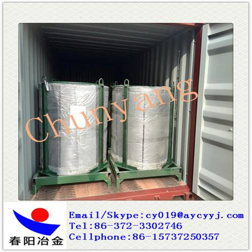 Ferroalloy Calcium Silicon Cored  Wire Producer and Exporter
