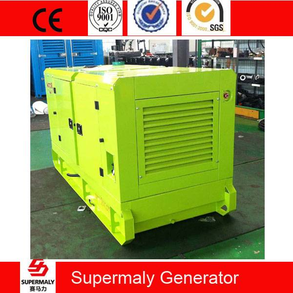 Silent 60KVA 50KW Diesel Generator by Cummins Engine 6BT5.9-G2