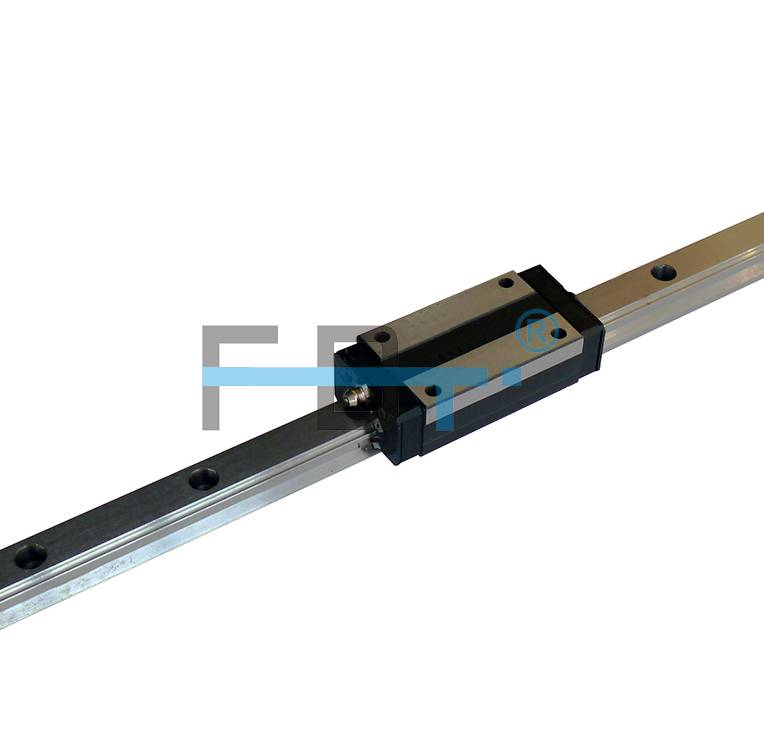 Chinese High Performance Linear Motion Guideway with BHL-NL Lengthen Narrow Carriage