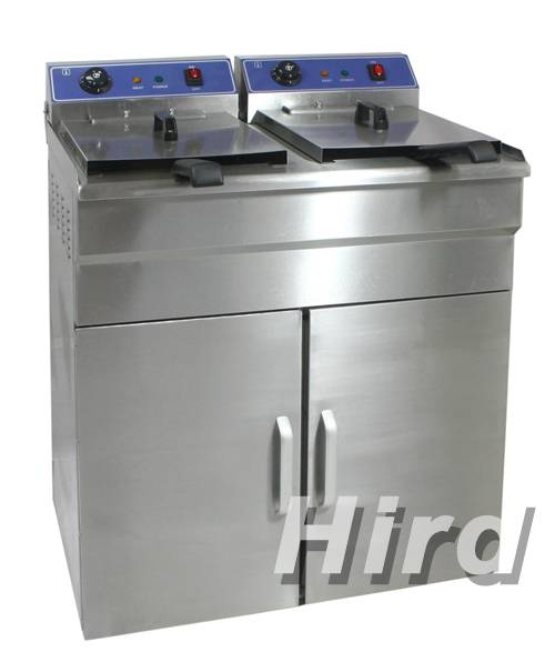 Electric Deep Fryer with cabinet(temperature controller:60°C~200°C)