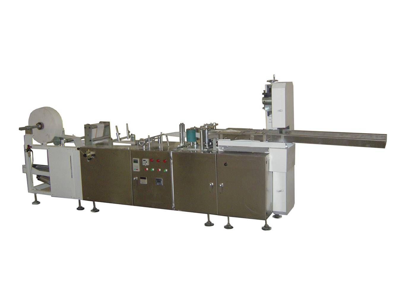 Non-woven Sponge Folding Machine with un-folding edge