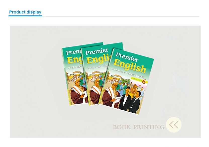 Custom Printed Textbooks Printing School Supply