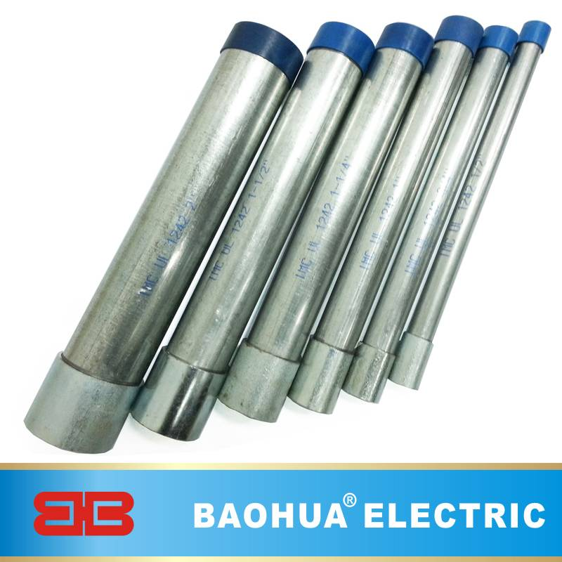 UL Standard Electrical Galvanized IMC Pipe