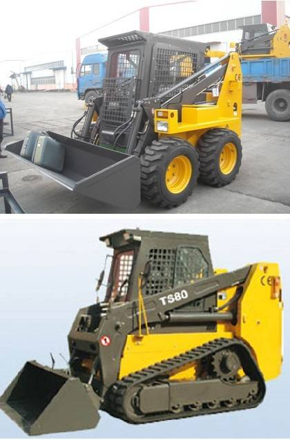 0.25-0.7m3 Bucket, Wheel-type / Track-type, skid steer loader, CE