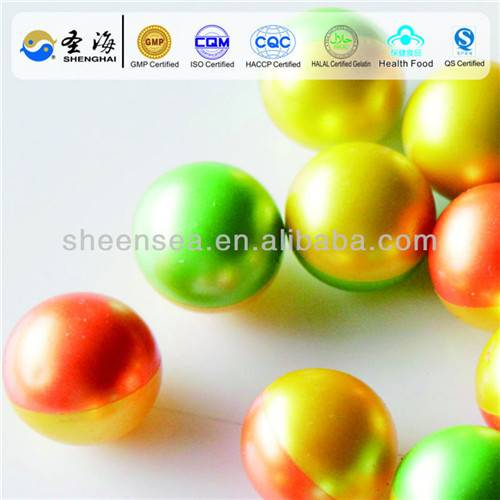 Colorful biodegradable paintballs manufacture