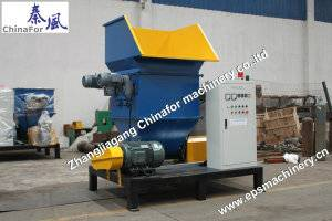 Four screw EPS hot melter recycling machine