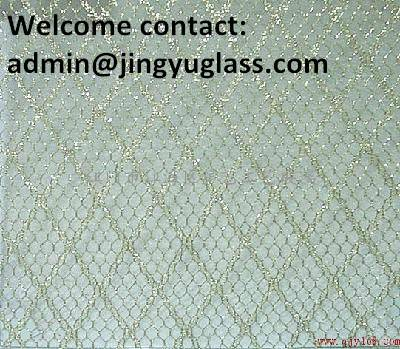 6.38mm-40mm Laminated, Tempered, Wired SAFETY GLASS