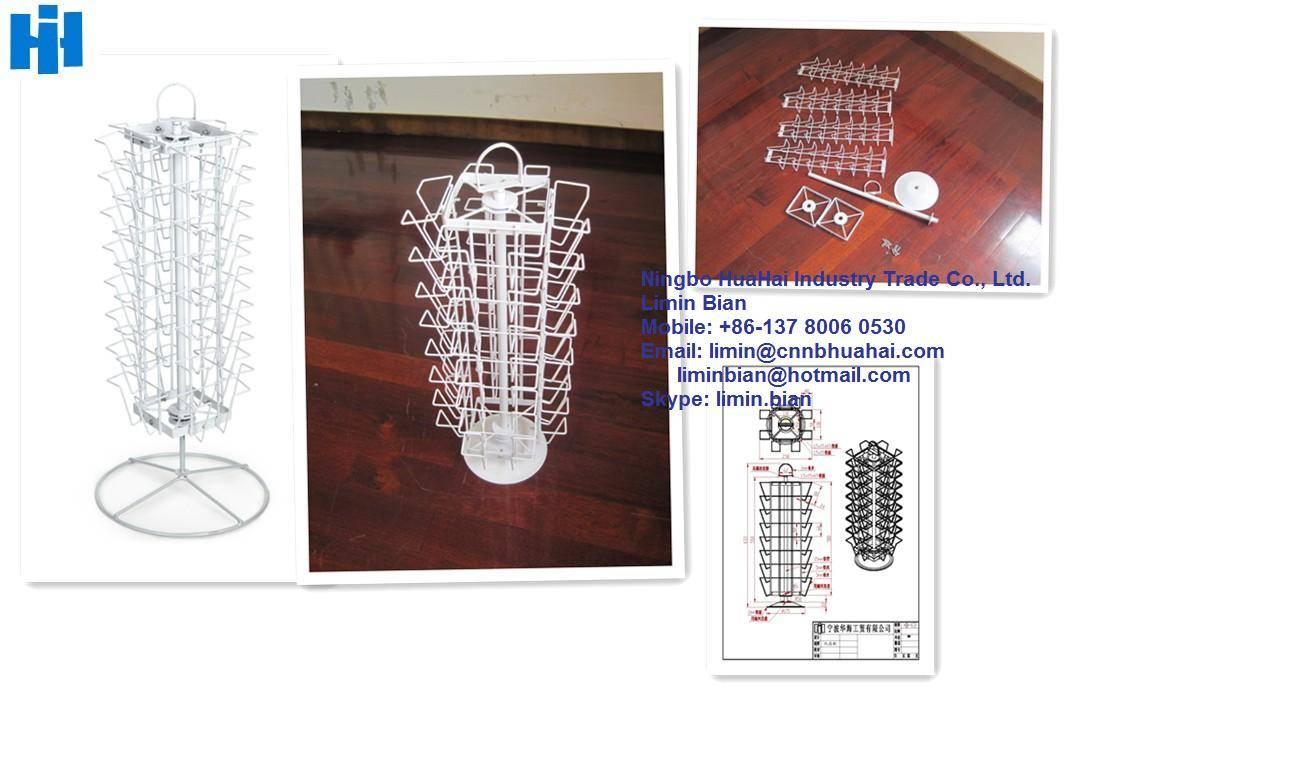 rotating metal CD rack