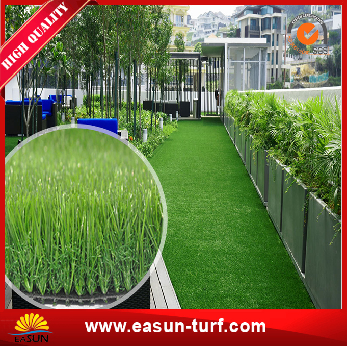 Green synthetic grass for Garden Decorative with high quality-AL
