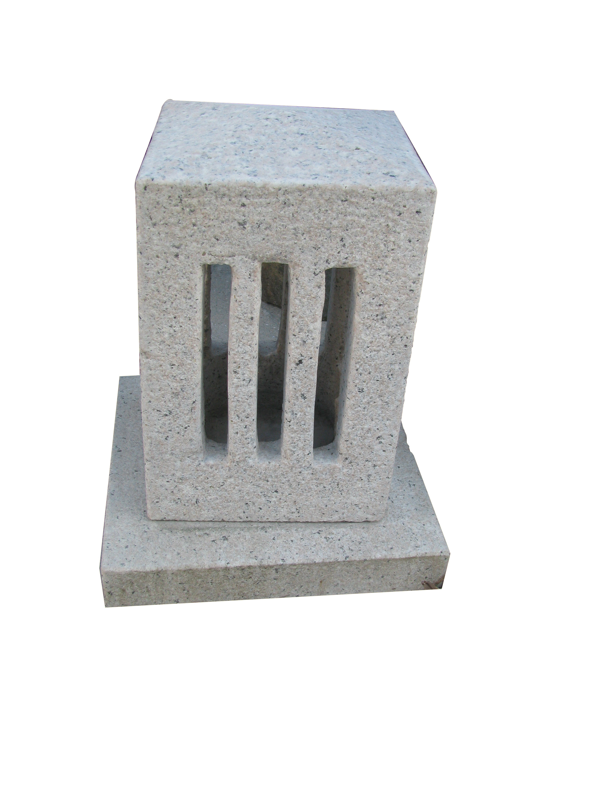 Quadrangle Lantern sculpture