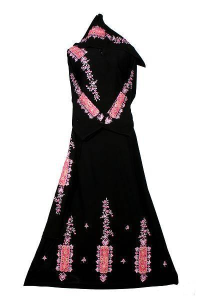 Classical Embroidered Abaya