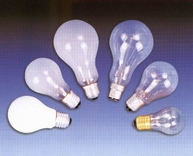 Incandescent Bulbs, General Bulbs, Light Lamps, Clear Bulbs, Frosted bulbs