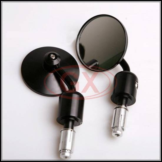 Motocross Classic Reversible CNC Round Universal Side Mirror Dirbike Rear View Mirrors Bar End Mirro