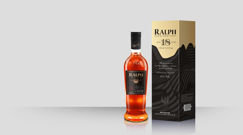 750ml whisky RALPH Premium Whisky hot sale wisky