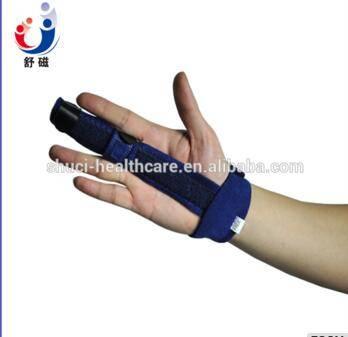 waterproof neoprene Sports finger splint types soft finger splint