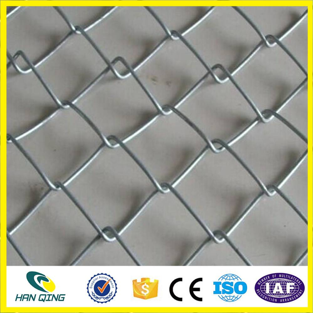 pvc coated 60mmX60mm opening diamond wire mesh fence