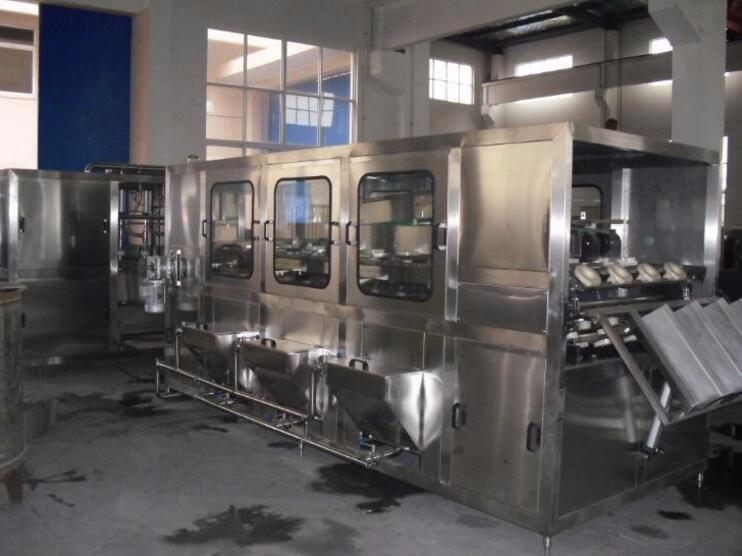 Automatic mineral water production line/water filling plant