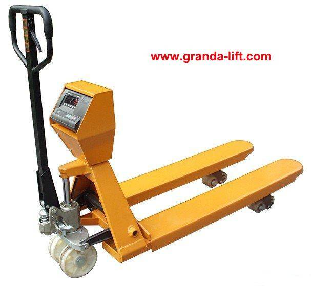 Hydraulic Hand Pallet Truck with Scale