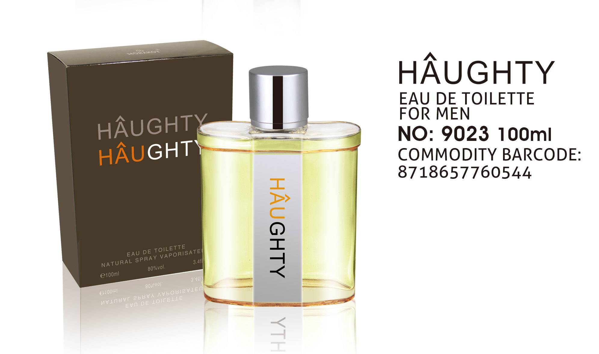 HAUGHTY New Brand Men Perfume