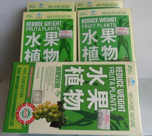 Reduce Weight Fruta Planta Slimming Capsules