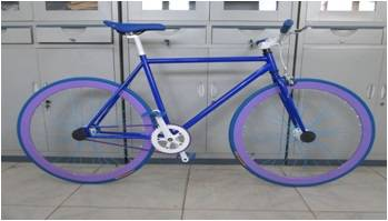 700*23c fixed gear bike from bicycle factory