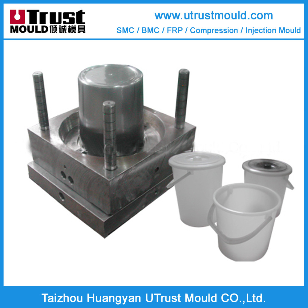 UTrust mould plastic injection molding plastic buckets moulds