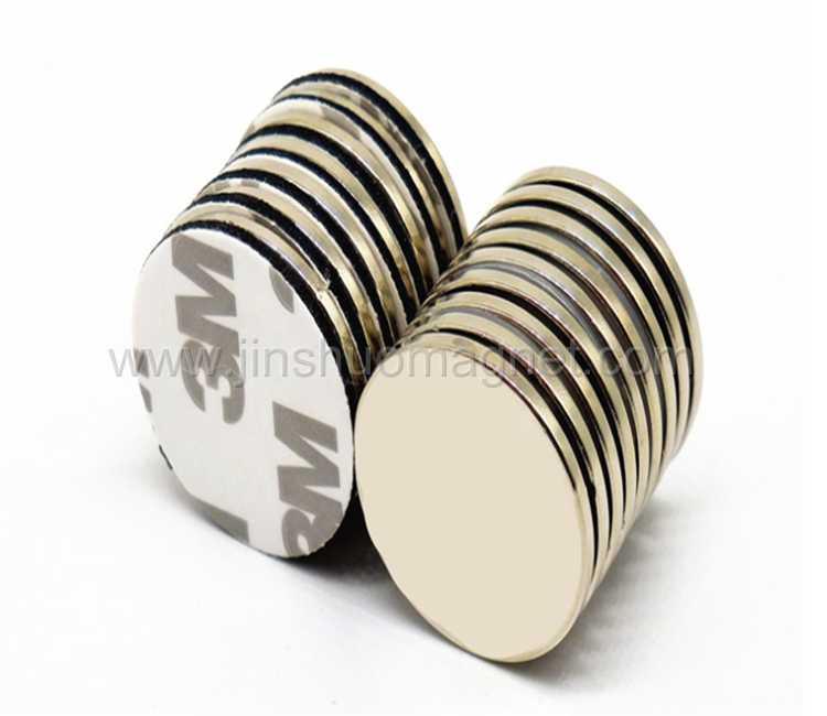 3M Adhesive Neodymium Magnet, Sintered NdFeB Magnet Disc