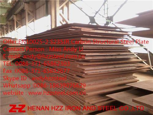S235JR|S235J0|S235J2|Steel Plate |Carbon Structural Steel Plate