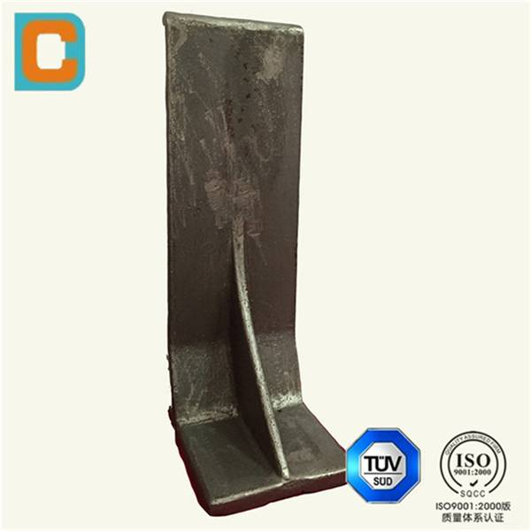 Steel investment casting for cement production line