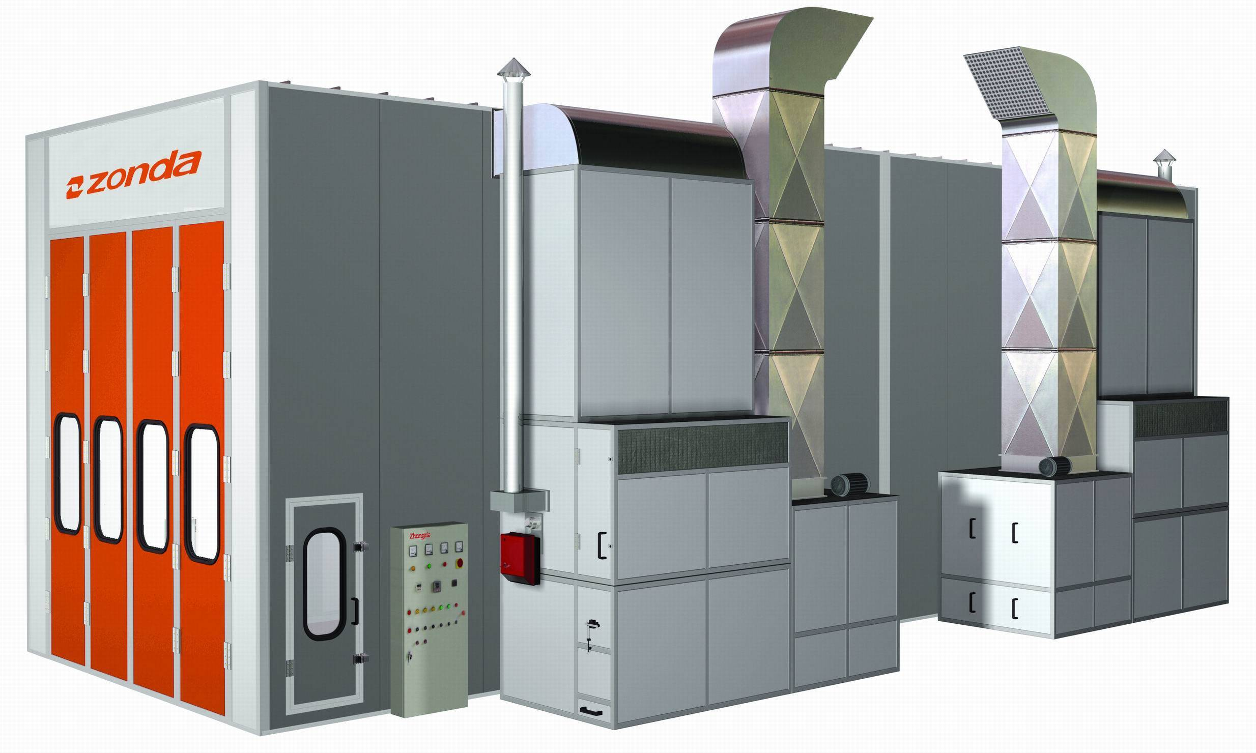 Spray Booth, Painting Booth, Baking Booth