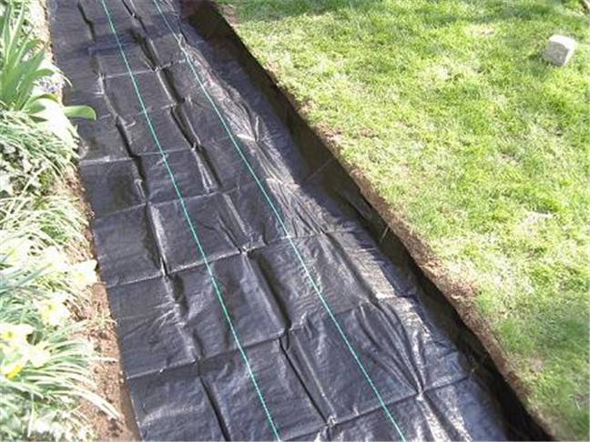 pp ground cover for vineyard, garden, orchard for inhibite weed growth