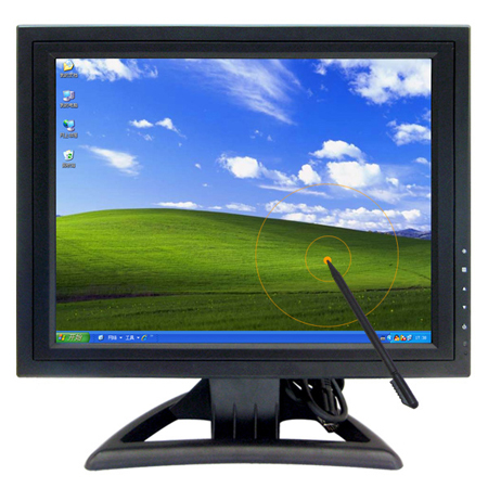 15 Inch TFT LCD Touchscreen VGA Monitor