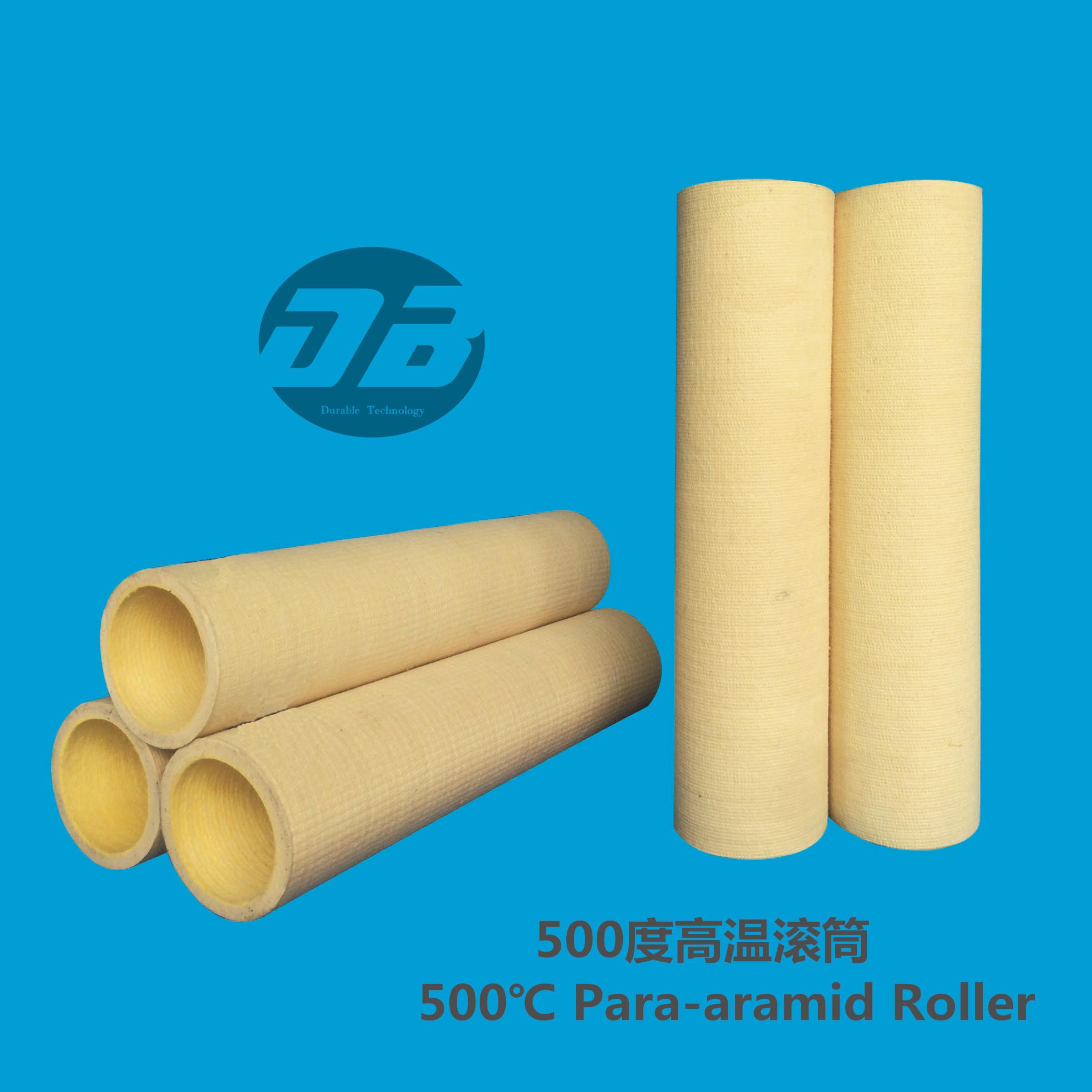 Kevlar/para-aramid roller sleeve