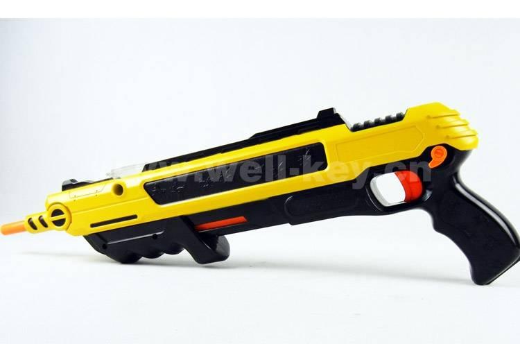Plastic adult toy gun for flies killer