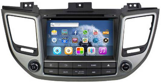 Hyundai IX35 Car DVD Player GPS Navigation Radio Bluetooth TV