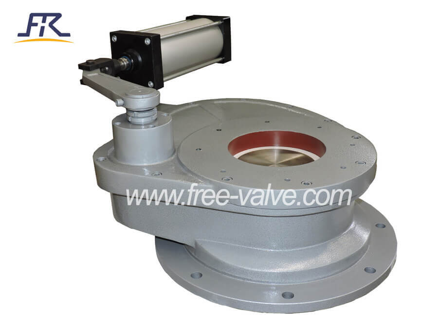 Pneumatic Ceramic Rotary Discharge Ash Gate Valve