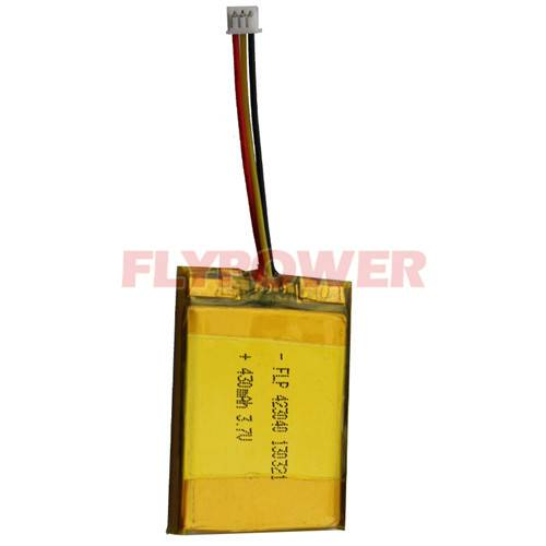 Li-ion Polymer Battery 3.7V 430mAh Rechargeable Battery Pack (FLP-423040)