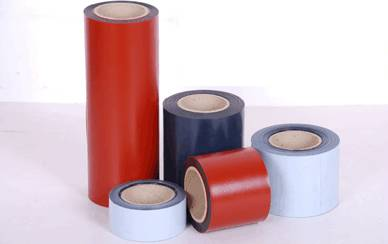 Pipe wrapping tape coating