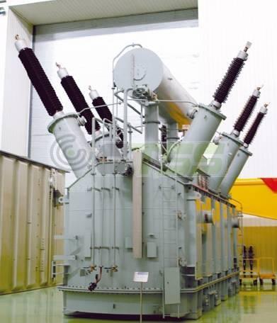 230kV Oil Immersed Three Phases Power Transformer