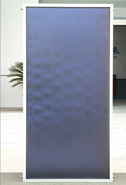 High Efficiency Blue Coating Flat Plate Panel Solar Thermal Collector