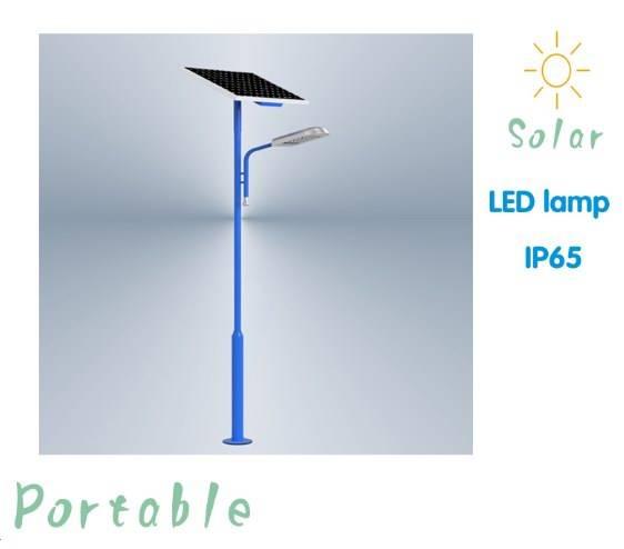 IP65 12W LED Solar Street/Garden/ Outdoor Lamp