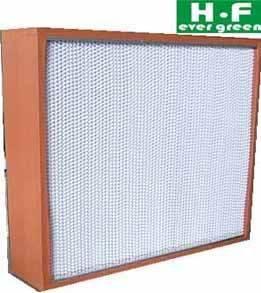 Deep-pleated HEPA filters