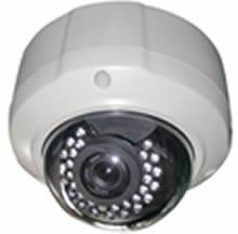 2.0 Megapixel Remote Focus and Zoom Vandal Proof IR 30m Dome IP Camera