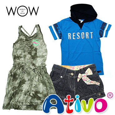 ATIVO kid's clothing wholesale