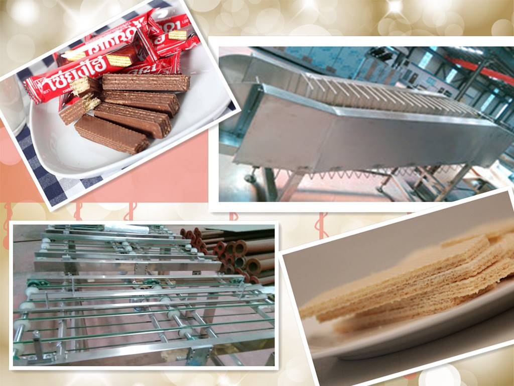 food factory new design wafer biscuit machine